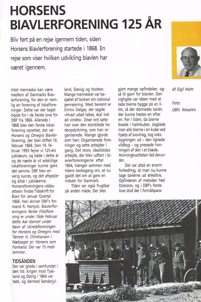 Horsens Biavler Forening 125 år